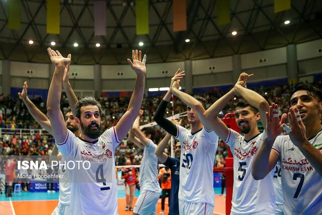 والیبال ایران صبر ترامپ را لبریز کرده است!