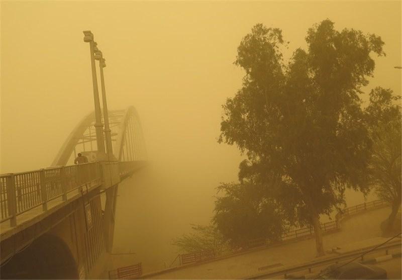 پیشبینی خاک موقت برای غرب و جنوب خوزستان