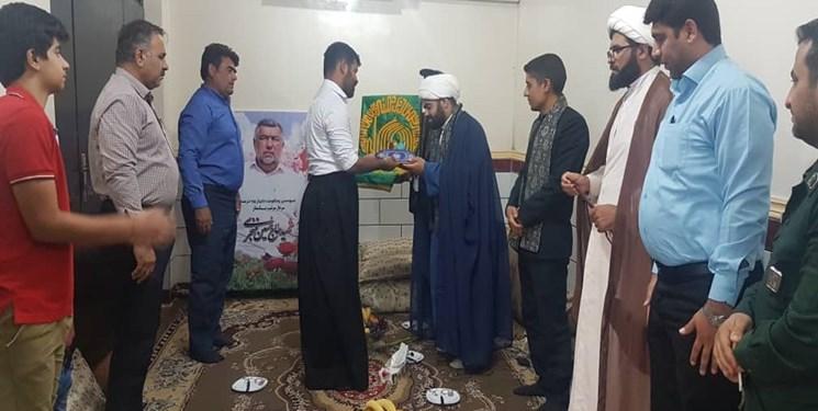 کاروان خدام رضوی در منزل شهید حادثه تروریستی ۳۱ شهریور