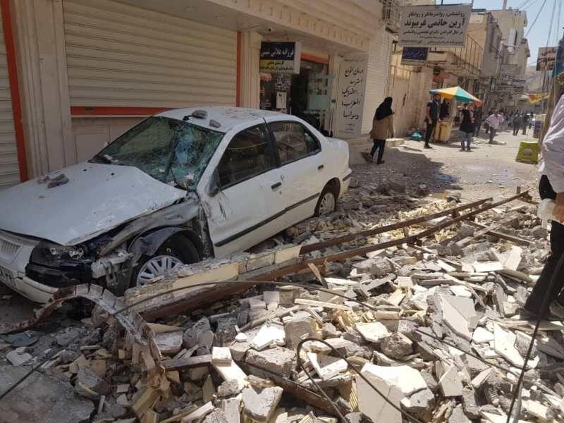 افزایش مصدومان زلزله مسجدسلیمان به ۱۰۴ نفر