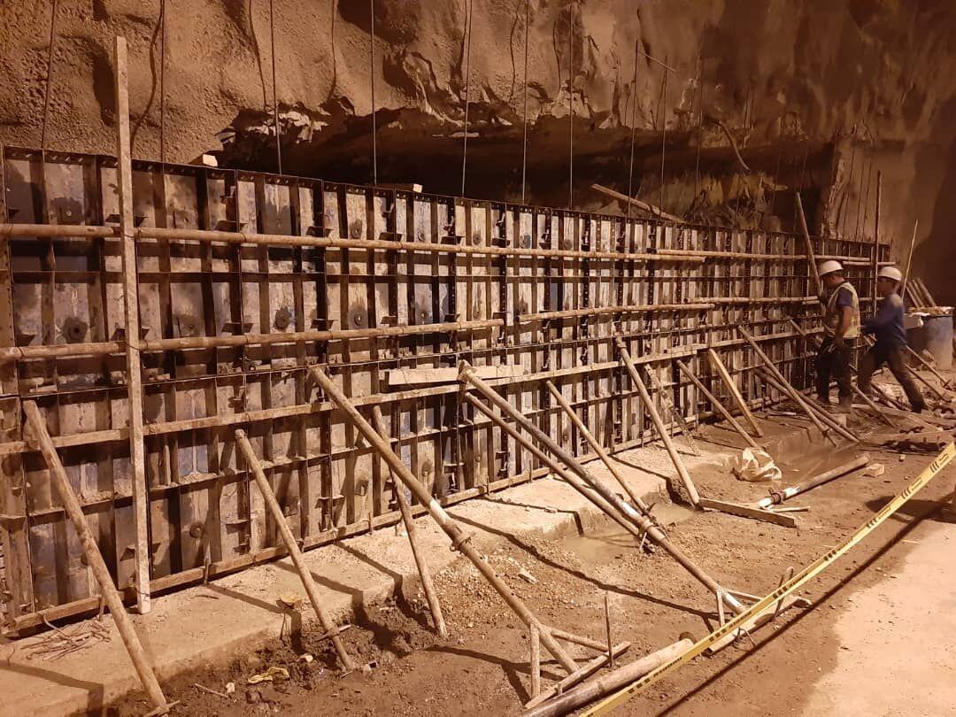 ایمن سازی تونل دلا در جاده اندیکا – شهرکرد آغاز شد