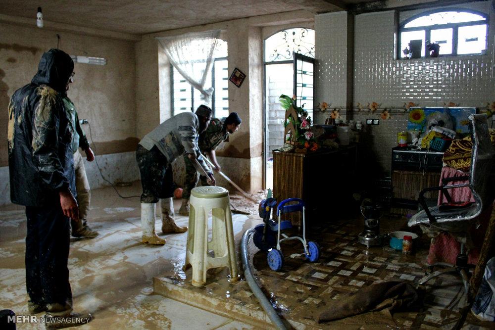 چهار هزار واحد مسکونی سیل زده خوزستان تعمیر شد