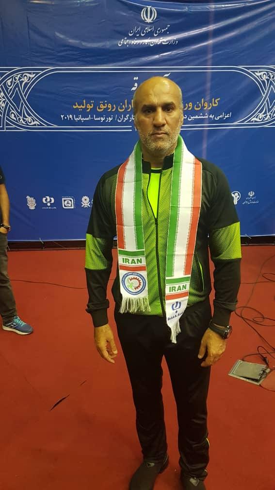 ساسان کریمی شناگر خوزستانی افتخار آفرید