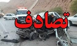 تصادف در جاده باغملک – میداوود ۱۰ مصدوم برجای گذاشت