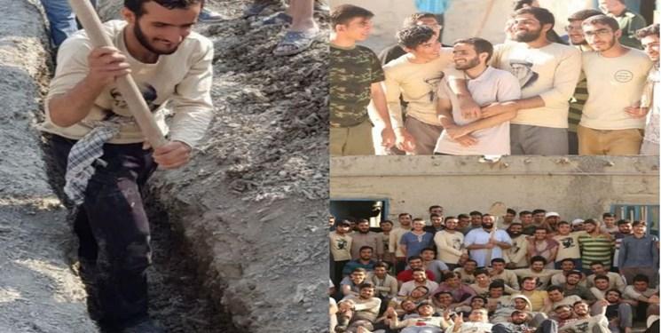 نخبه بسیجی و جهادگر رامهرمزی مدالش را به رهبری اهدا کرد