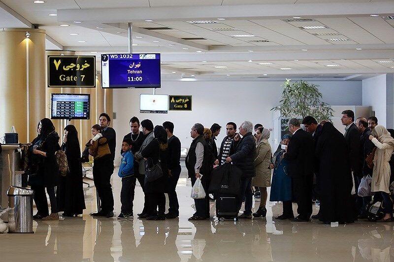 عرضه بلیت ۱۳ میلیون ریالی پرواز اهواز به تهران