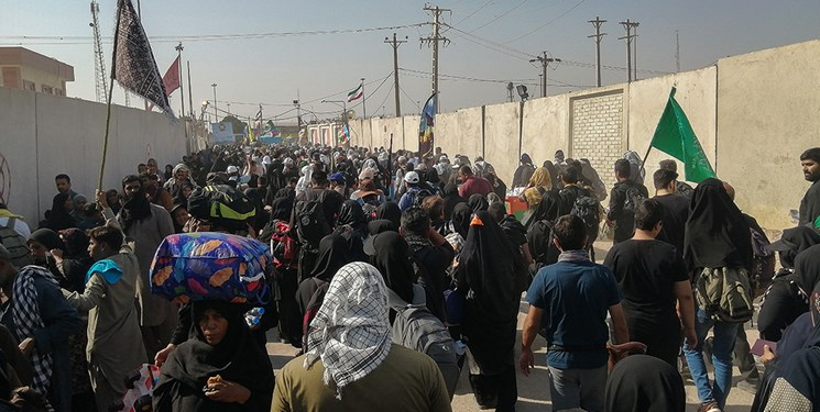 تردد بیش از ۲ میلیون و ۴۰۰ هزار نفر از مرزهای خوزستان