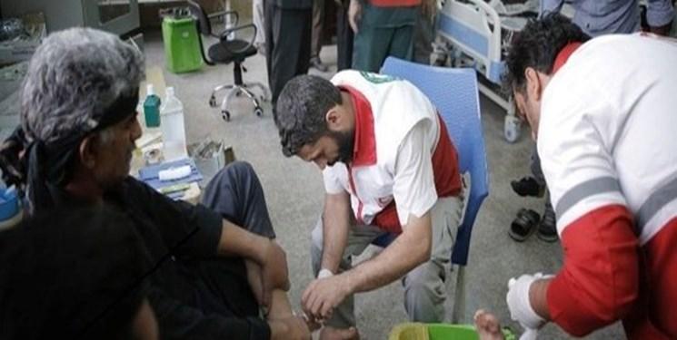 خدماترسانی هلالاحمر خوزستان به بیش از ۴۴هزار زائر
