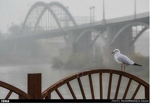 خوزستان مه آلود می شود