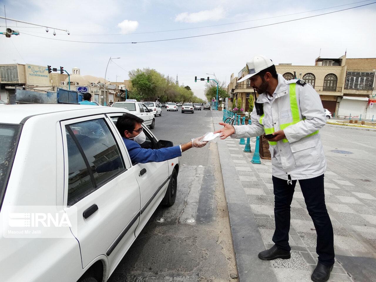 توزیع ۹ هزار ماسک بین ادارهها و بیمارستانهای آبادان