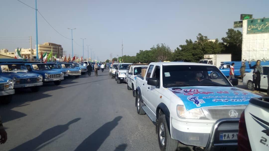 مرحله نخست رزمایش کمک مومنانه در خوزستان شروع شد