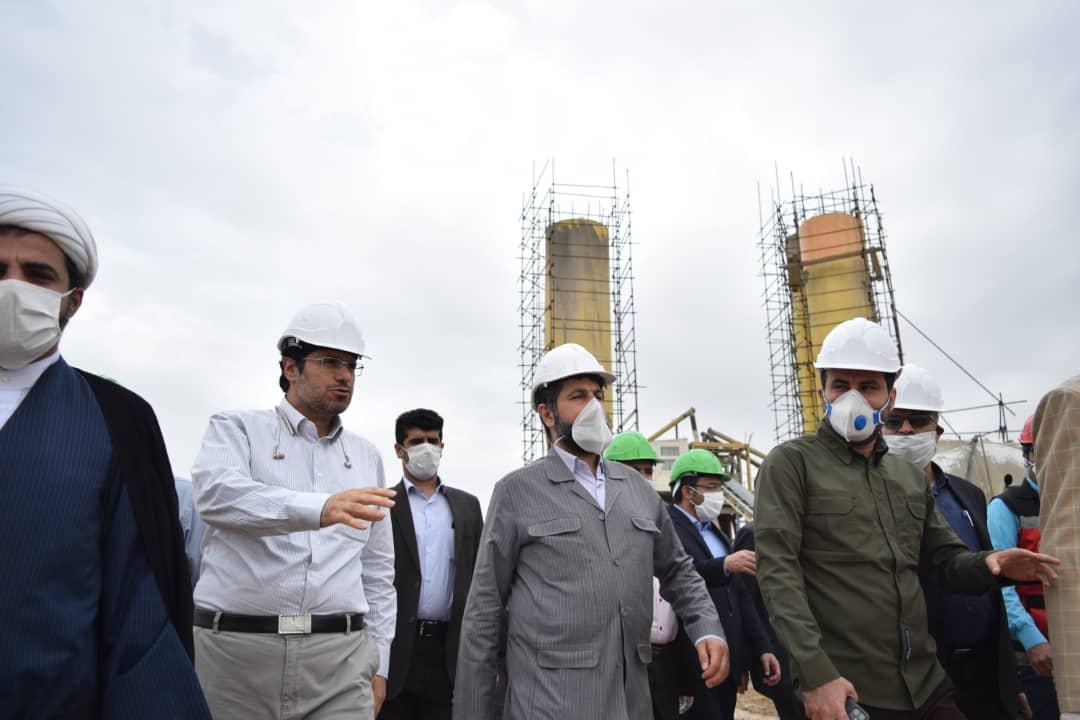 بازدید از پروژههای سطح شهر اهواز/تصویری