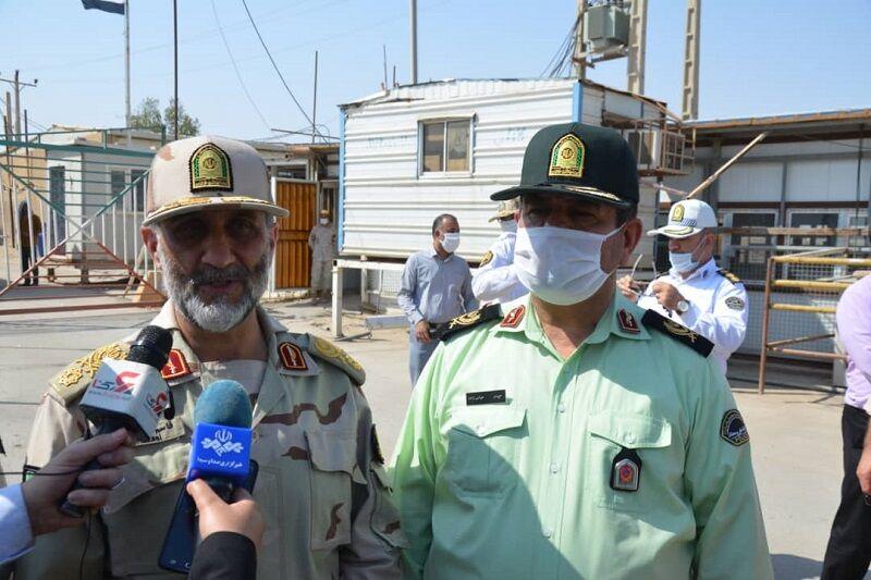 جانشین ناجا: گذرگاههای مرزی ایران با عراق پذیرای زایران اربعین نیست