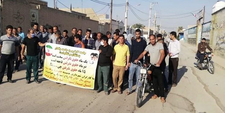 علت عدم پرداخت مطالبات کارگران شهرداری حمیدیه چیست؟