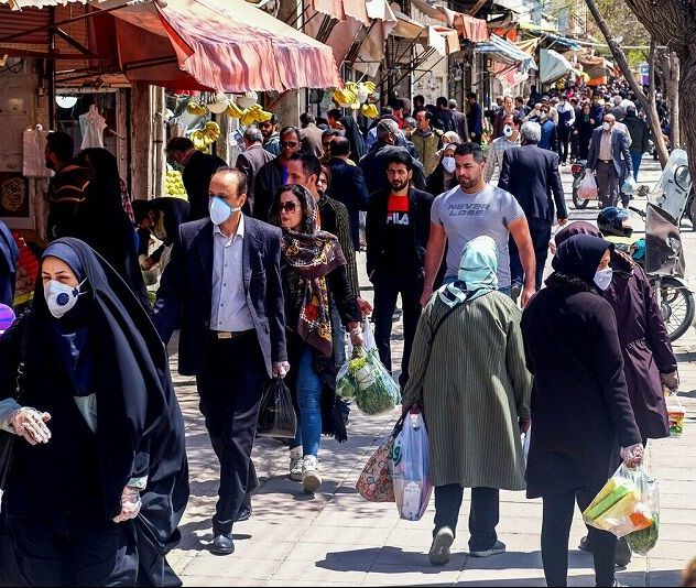 یکهتازی ویروس کرونا در بازارهای آبادان و خرمشهر