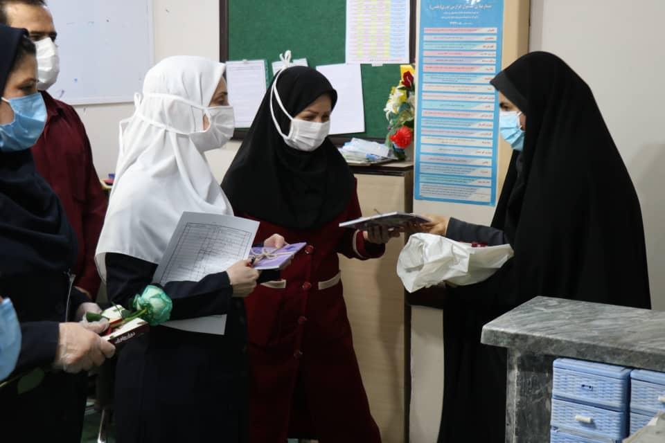 تجلیل از پرستاران خوزستان به مناسبت روز پرستار