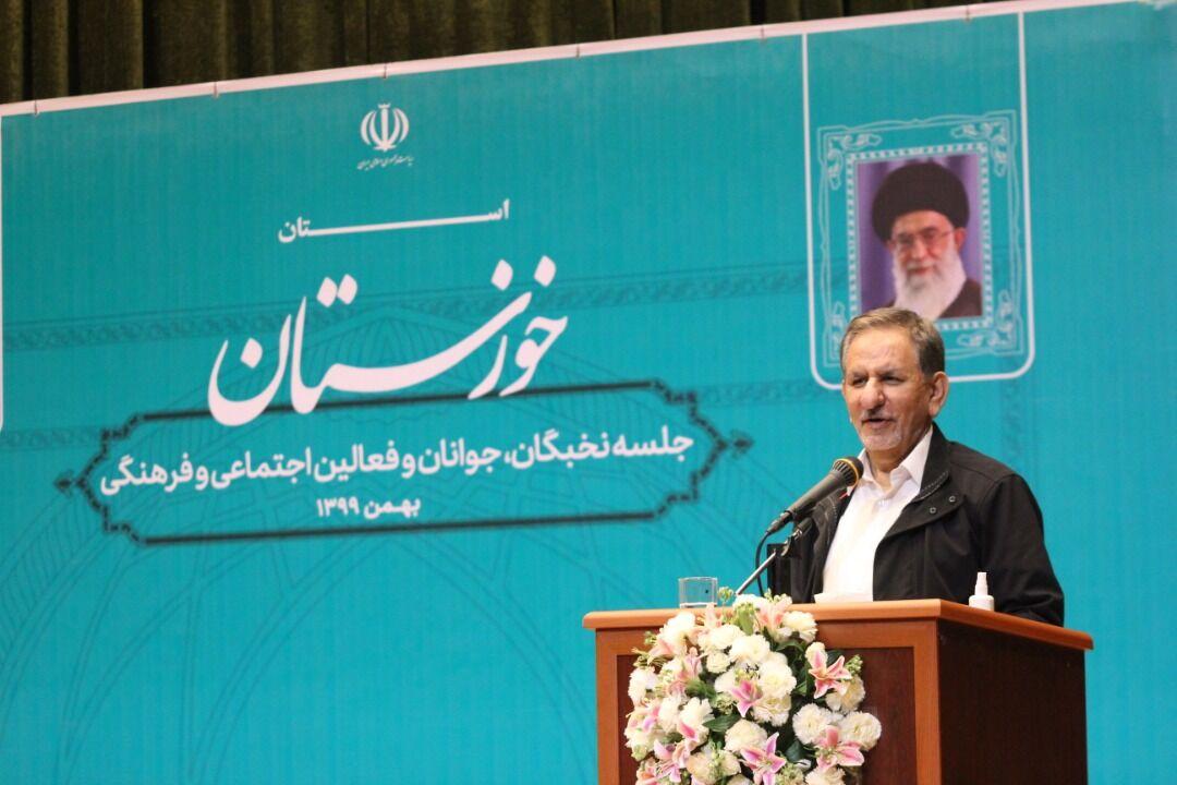 جهانگیری: مردم ایران در جنگ نرم و اقتصادی دشمن هم پیروز شدند