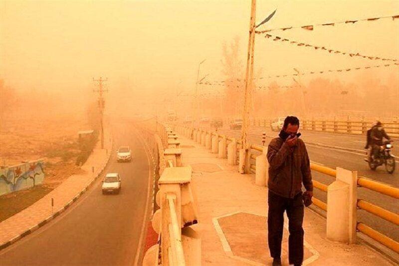 پیشبینی وقوع گرد و غبار در خوزستان