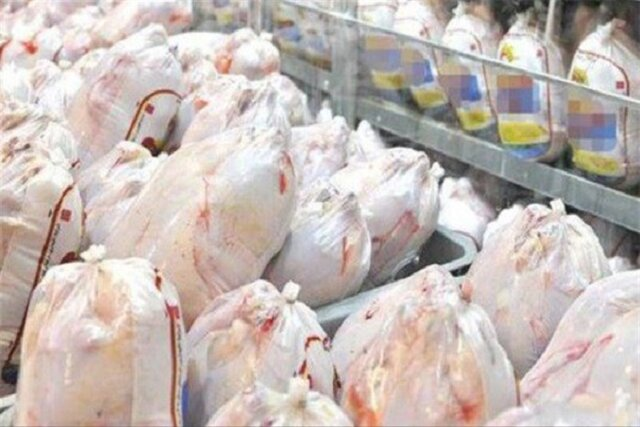 لزوم افزایش توزیع مرغ منجمد برای تنظیم بازار