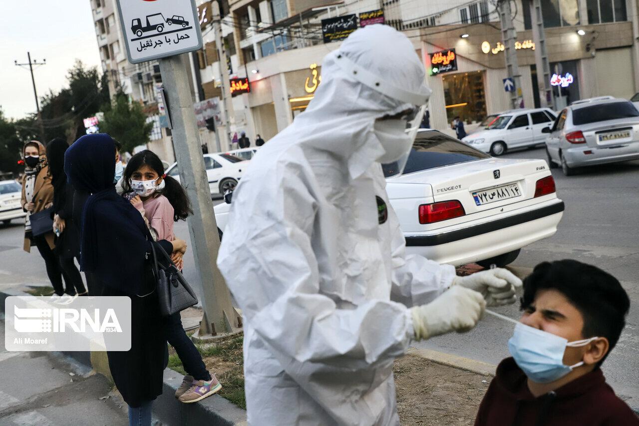 هلالاحمر: بیش از ۱۵ هزار تست فوری کرونا از مسافران نوروزی گرفته شد