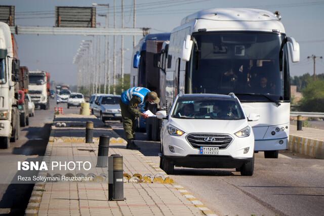 اعمال محدودیت در محورهای ورودی و خروجی خوزستان از فردا