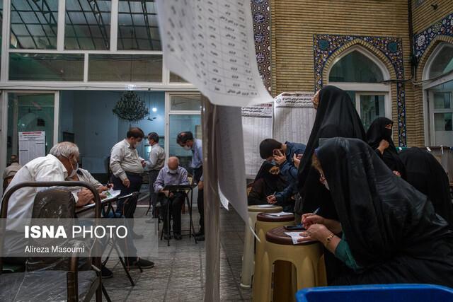 مشارکت ۸۶ درصدی مردم آغاجاری در انتخابات