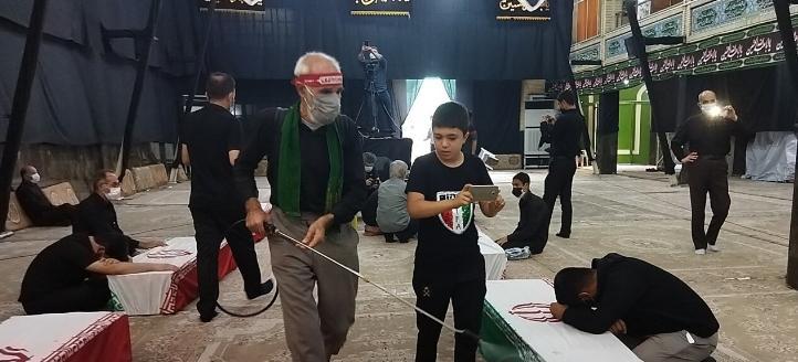 حسینیه عاشقان ثارالله اهواز میزبان ۲۰ شهید دوران دفاع مقدس